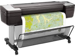 HP DesignJet T1700 44-in PostScript Printer - 1VD87A